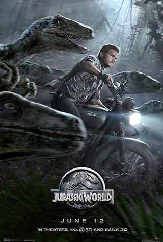 Jurassic World (2015) Main Poster