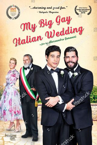 My Big Gay Italian Wedding (2018) Main Poster