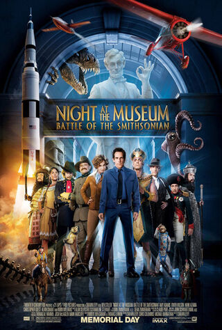 Night at the Museum: Battle of the Smithsonian (2009) Main Poster