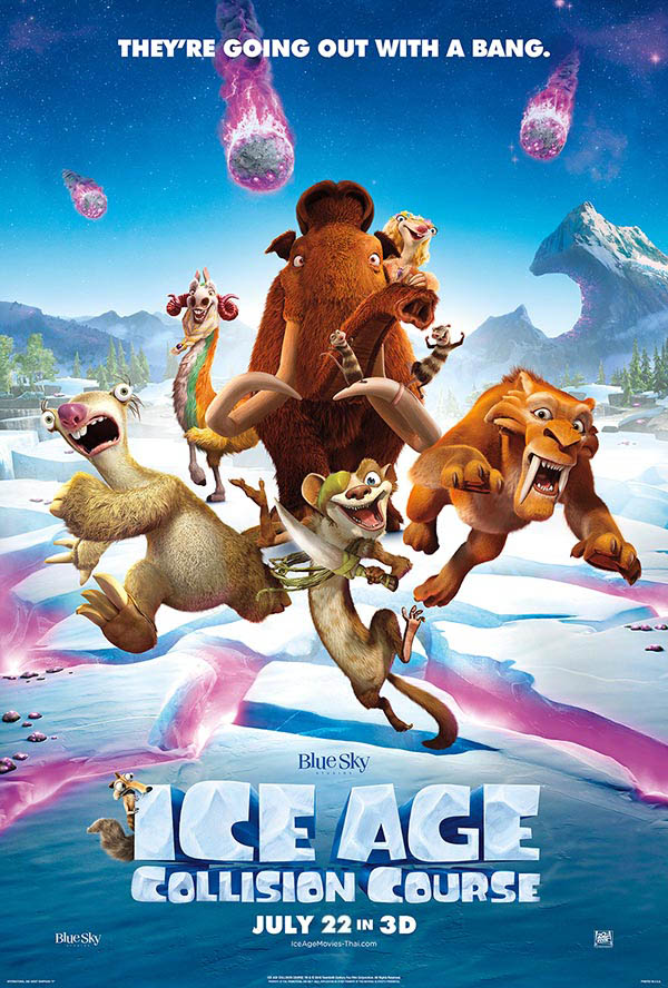 Ice Age: Collision Course (2016) Main Poster