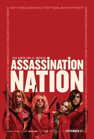 Assassination Nation (2018) Main Poster