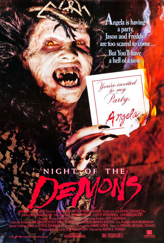 Night Of The Demons (1988) Main Poster