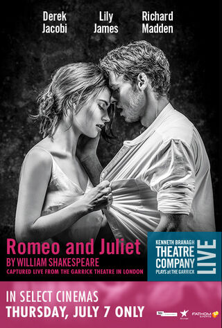 Branagh Theatre Live: Romeo And Juliet (2016) Main Poster