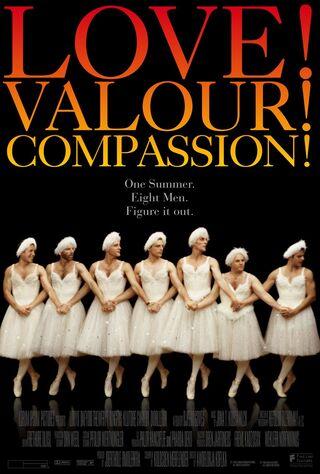Love! Valour! Compassion! (1997) Main Poster