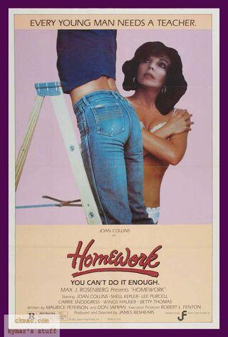 Homework (1982) Main Poster