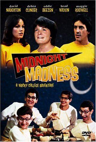 Midnight Madness (1980) Main Poster