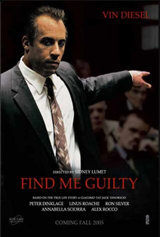 Find Me Guilty (2006) Main Poster