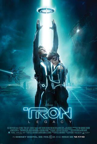 Tron (2010) Main Poster
