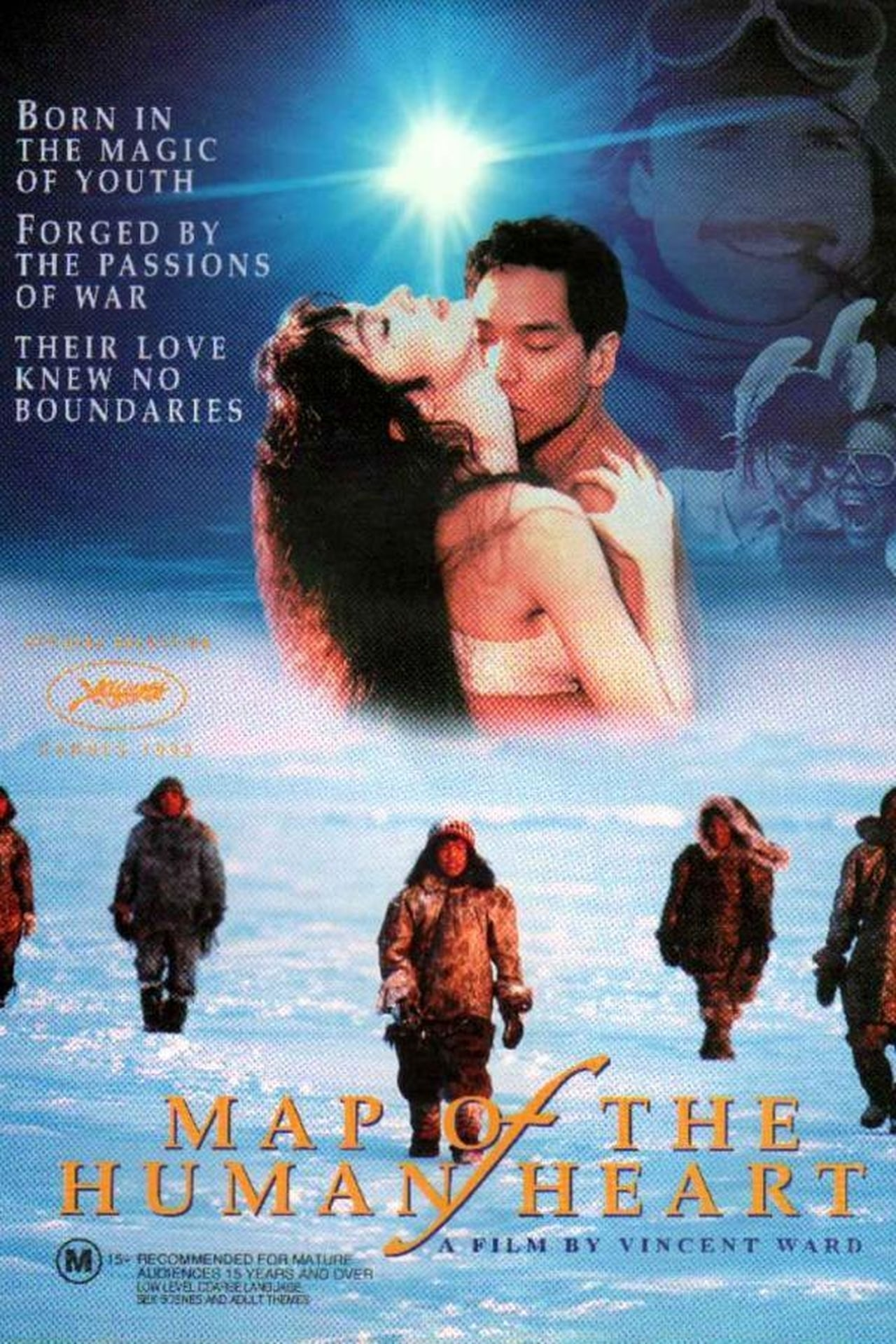 Map Of The Human Heart (1993) Poster #2