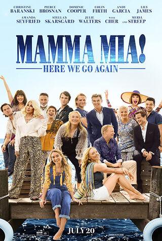 Mamma Mia! Here We Go Again (2018) Main Poster