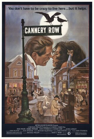 Cannery Row (1982) Main Poster