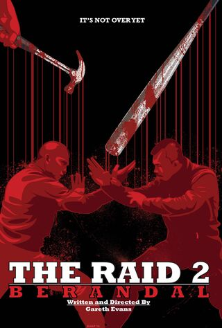 The Raid 2 (2014) Main Poster