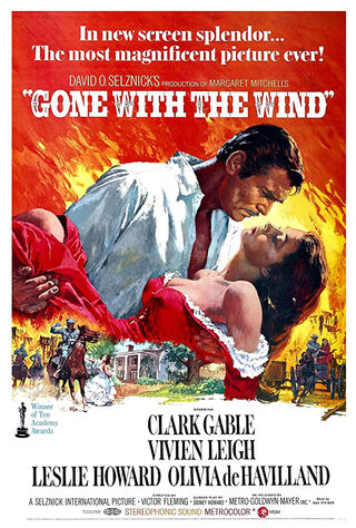 Gone with the Wind (1940) Main Poster