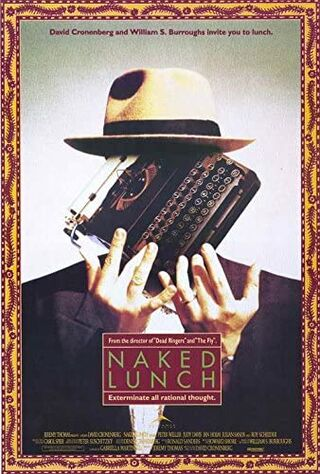 Naked Lunch (1992) Main Poster