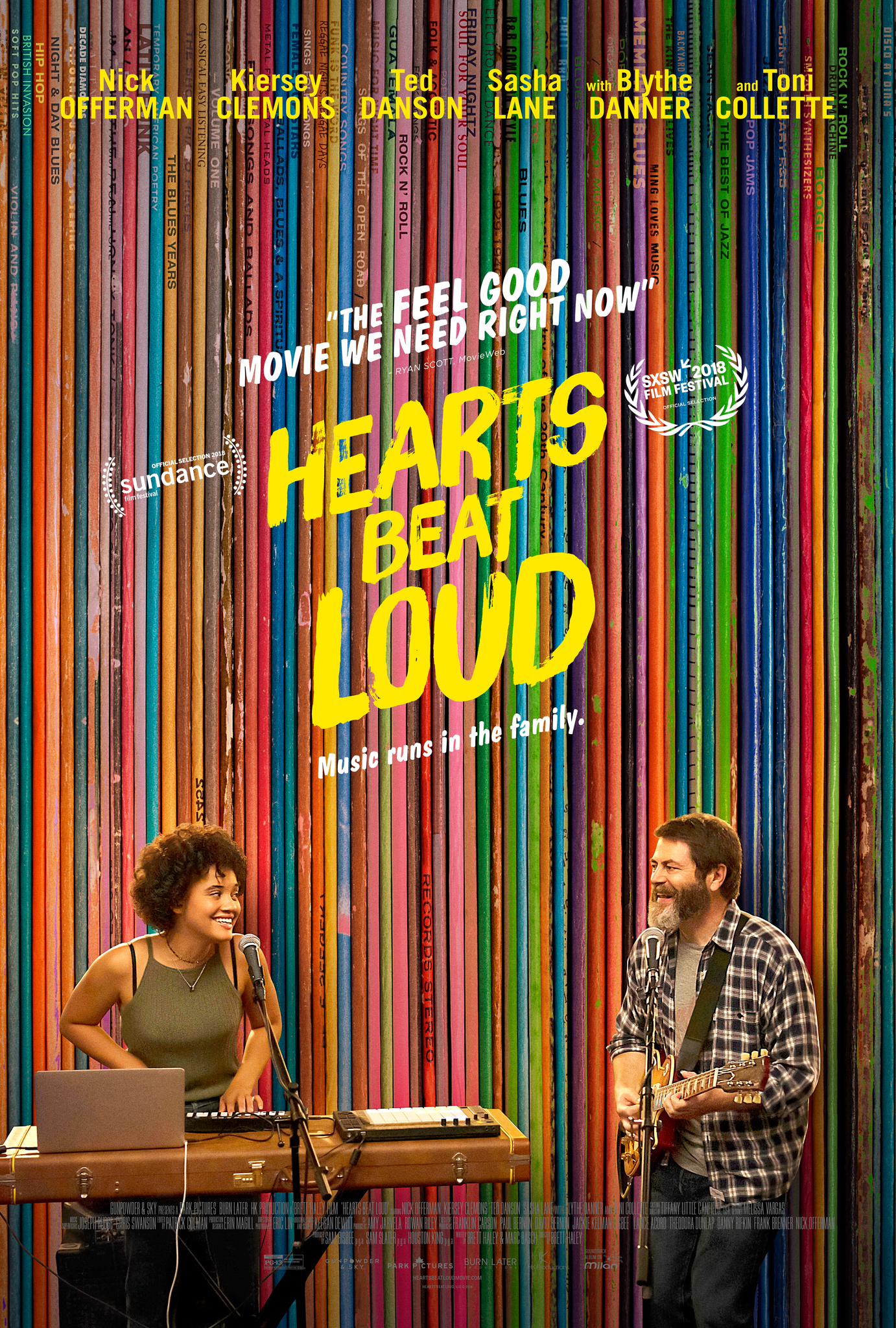 Hearts Beat Loud (2018) Main Poster