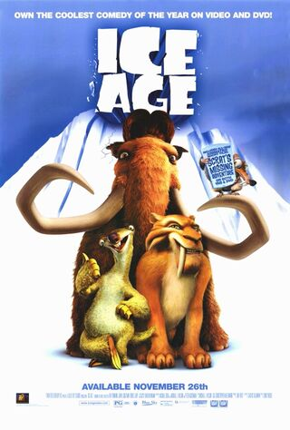 Ice Age (2002) Main Poster