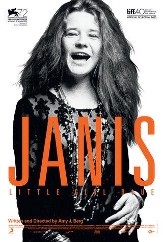 Janis: Little Girl Blue (2015) Main Poster