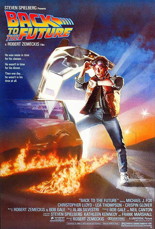 Back to the Future (1985) Main Poster