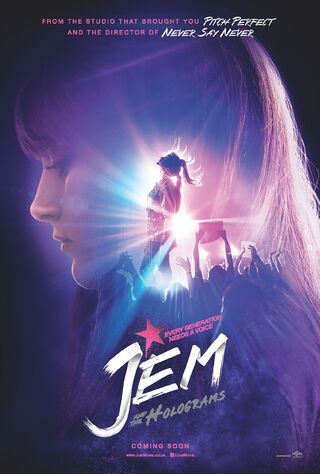 Jem And The Holograms (2015) Main Poster