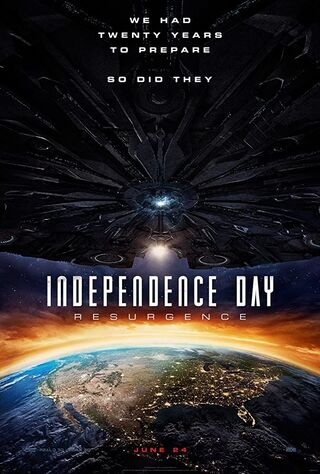 Independence Day: Resurgence (2016) Main Poster