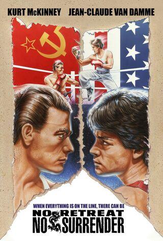 No Retreat, No Surrender (1986) Main Poster