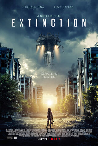 Extinction (2018) Main Poster