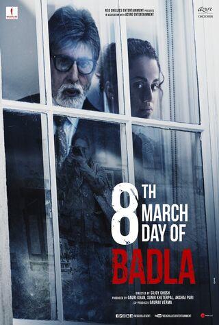 Badla (2019) Main Poster