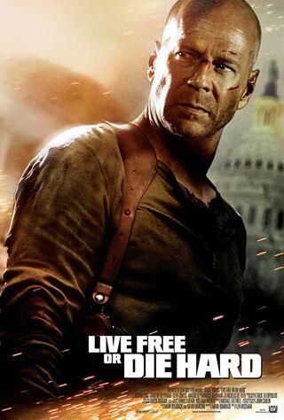 Live Free or Die Hard (2007) Main Poster