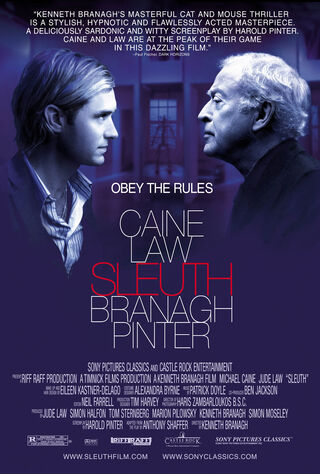 Sleuth (2007) Main Poster