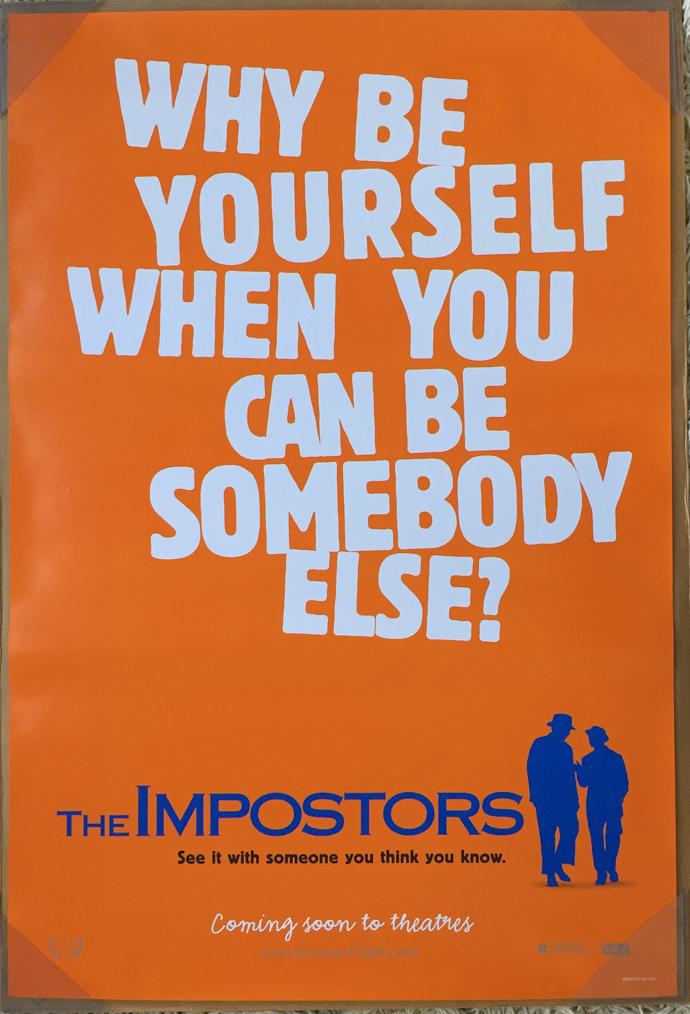 The Impostors (1998) Main Poster