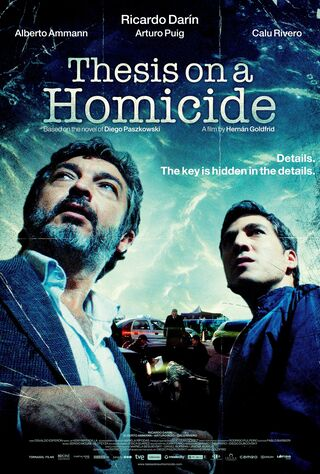 Thesis On A Homicide (2013) Main Poster