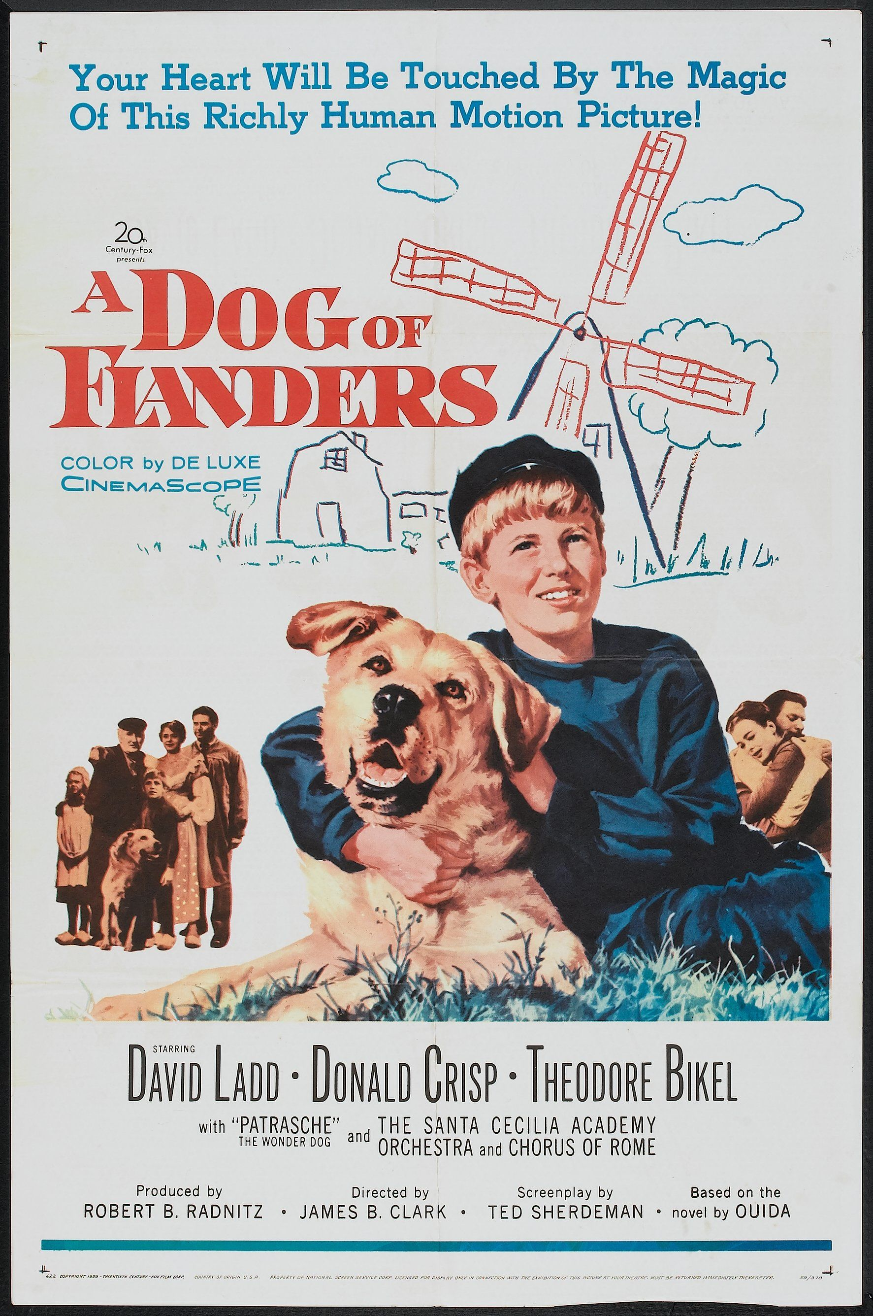 A Dog Of Flanders (1999) Poster #2