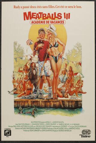 Meatballs III: Summer Job (1987) Main Poster