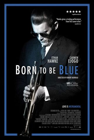 Born To Be Blue (2016) Main Poster