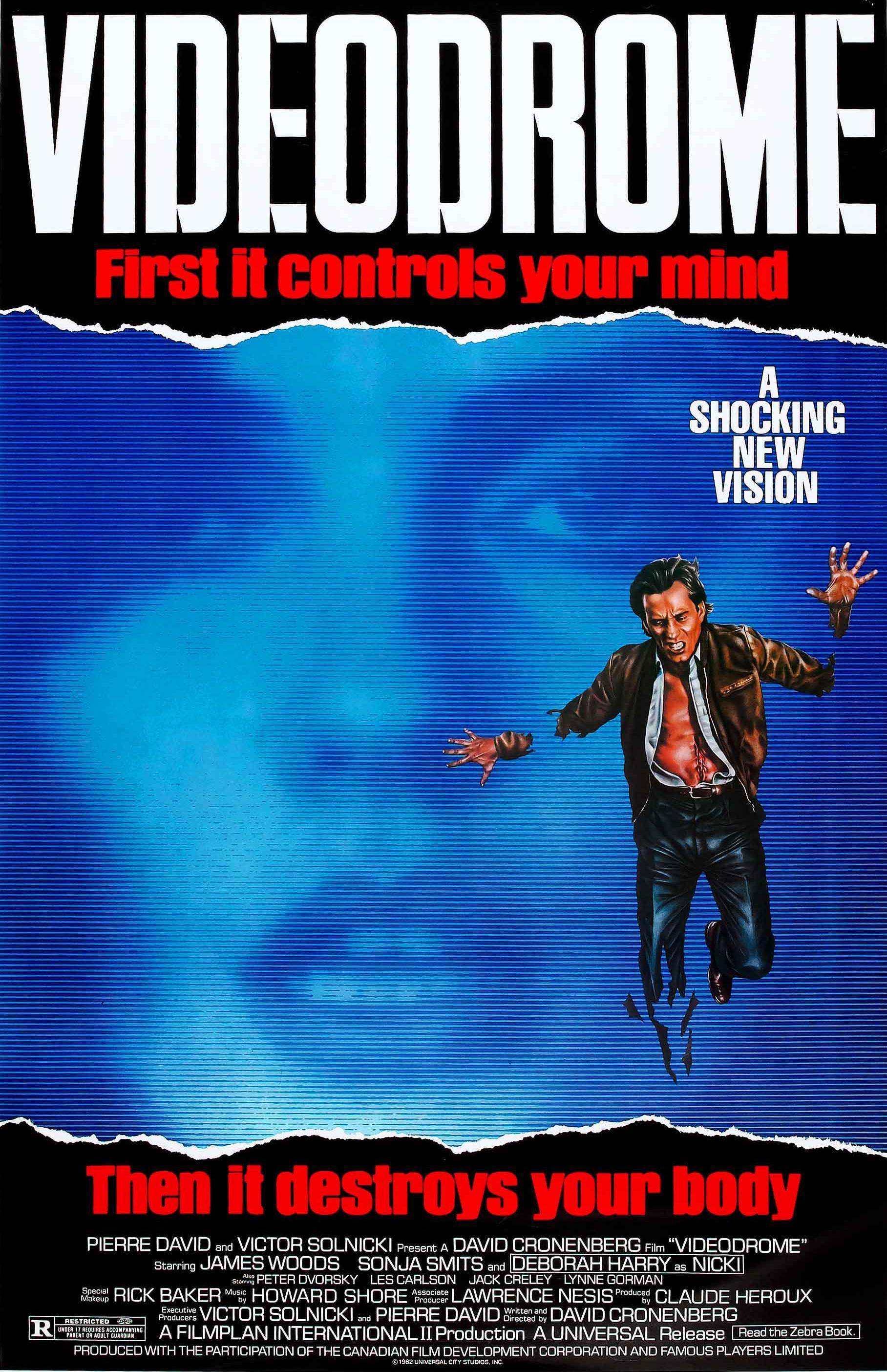 Videodrome (1983) Main Poster