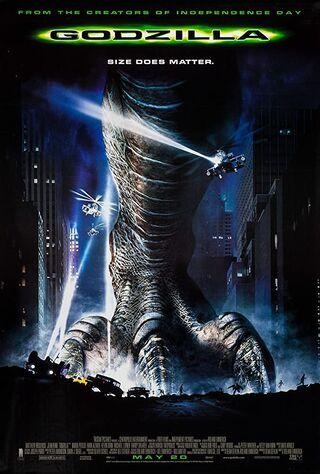 Godzilla (1998) Main Poster