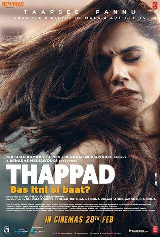 Thappad (2020) Main Poster