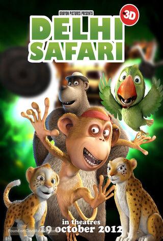 Delhi Safari (2012) Main Poster