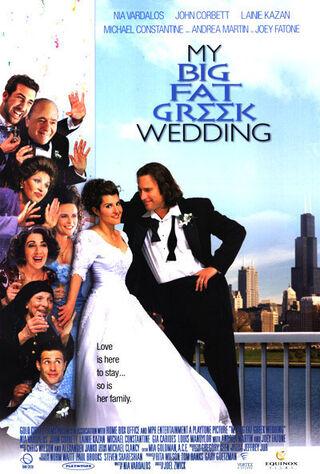 My Big Fat Greek Wedding (2002) Main Poster