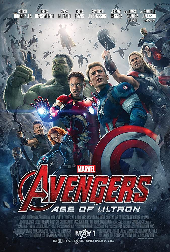 Avengers: Age of Ultron (2015) Main Poster