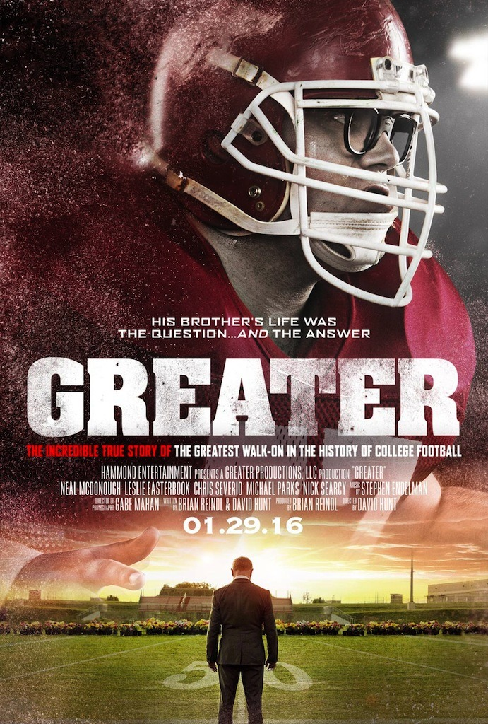 Greater (2016) Main Poster
