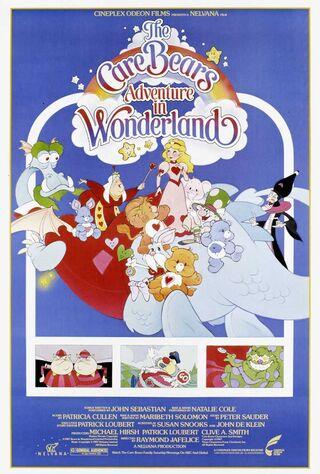 The Care Bears Adventure In Wonderland (1987) Main Poster