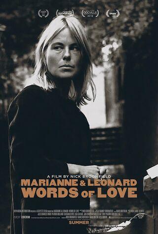 Marianne & Leonard: Words Of Love (2019) Main Poster