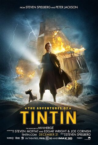 The Adventures of Tintin (2011) Main Poster