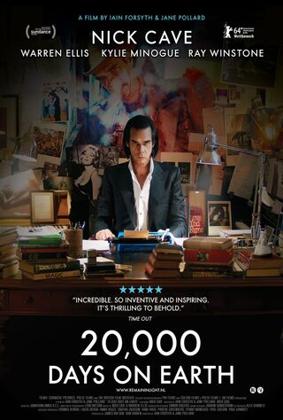 20,000 Days On Earth (2014) Main Poster