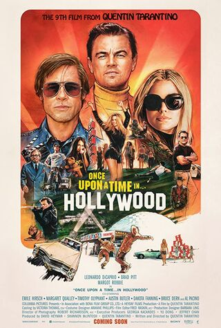 Once Upon a Time... in Hollywood (2019) Main Poster