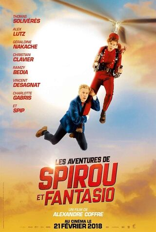 Spirou & Fantasio's Big Adventures (2018) Main Poster