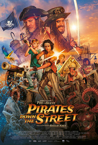 Pirates Down The Street (2020) Main Poster