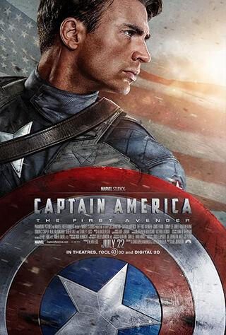 Captain America: The First Avenger (2011) Main Poster