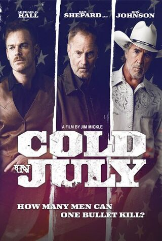 Cold In July (2014) Main Poster